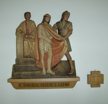 Stations of the cross, Condemnation