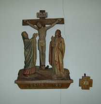 Station of the cross, Jesus dies