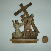 Stations of the cross, The cross
