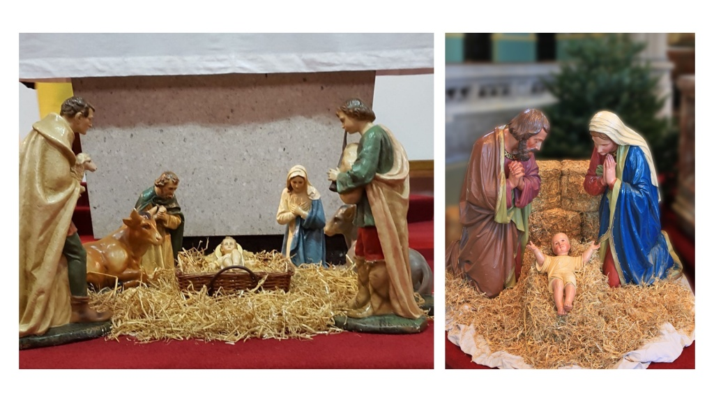 Nativity scenes from our parishes
